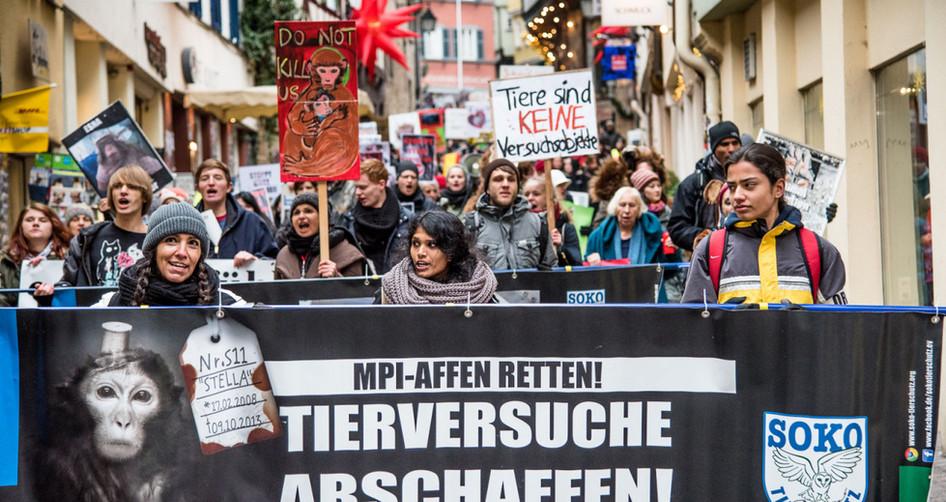 MPI schliessen - Tierversuche abschaffen!