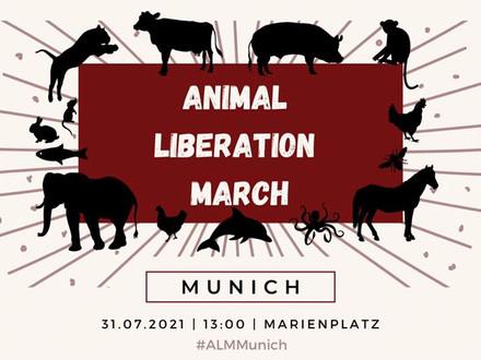 Demo in München 31. Juli