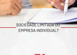 Sociedade limitada ou individual?