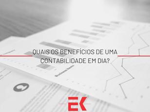 Quais são os benefícios de uma contabilidade em dia?