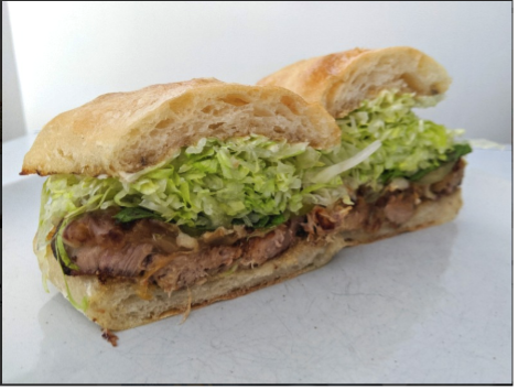 Mojo Pork Sandwich, courtesy of Part & Parcel in Victoria BC