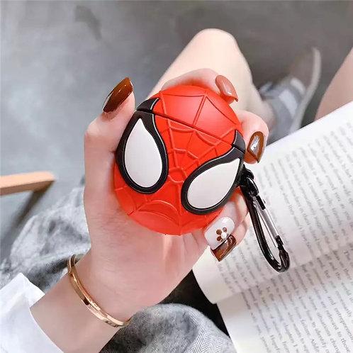 Funda de AirPods 3D Spiderman marvel