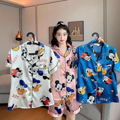 pijama mickey short
