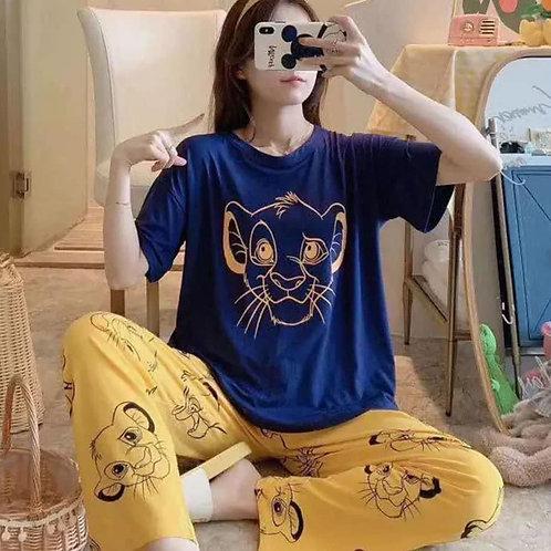 Pijama rey leon