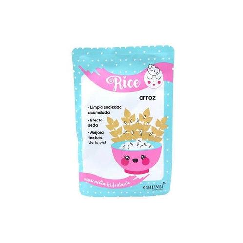 Mascarilla facial rice