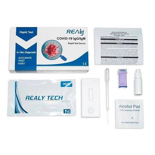 Prueba Rápida de Anticuerpos Individual Realy Tech COVID-19 (IgG/IgM)
