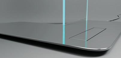 Folding Perspex Lamp | Studio Alisa Sheinson