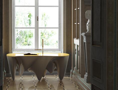 Futuristic Coffee Tables | Studio Alisa Sheinson