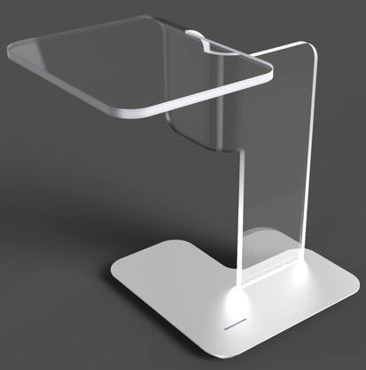 Folding Perspex Lamp