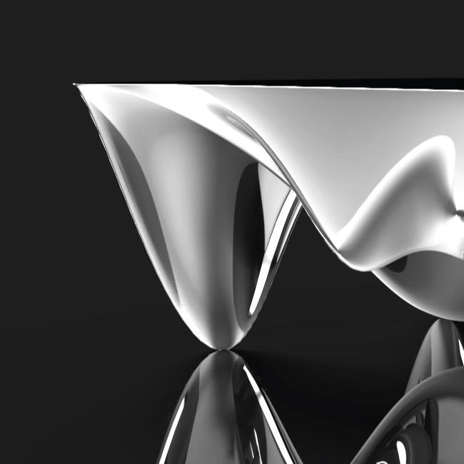 Futuristic Coffee Table | Studio Alisa Sheinson