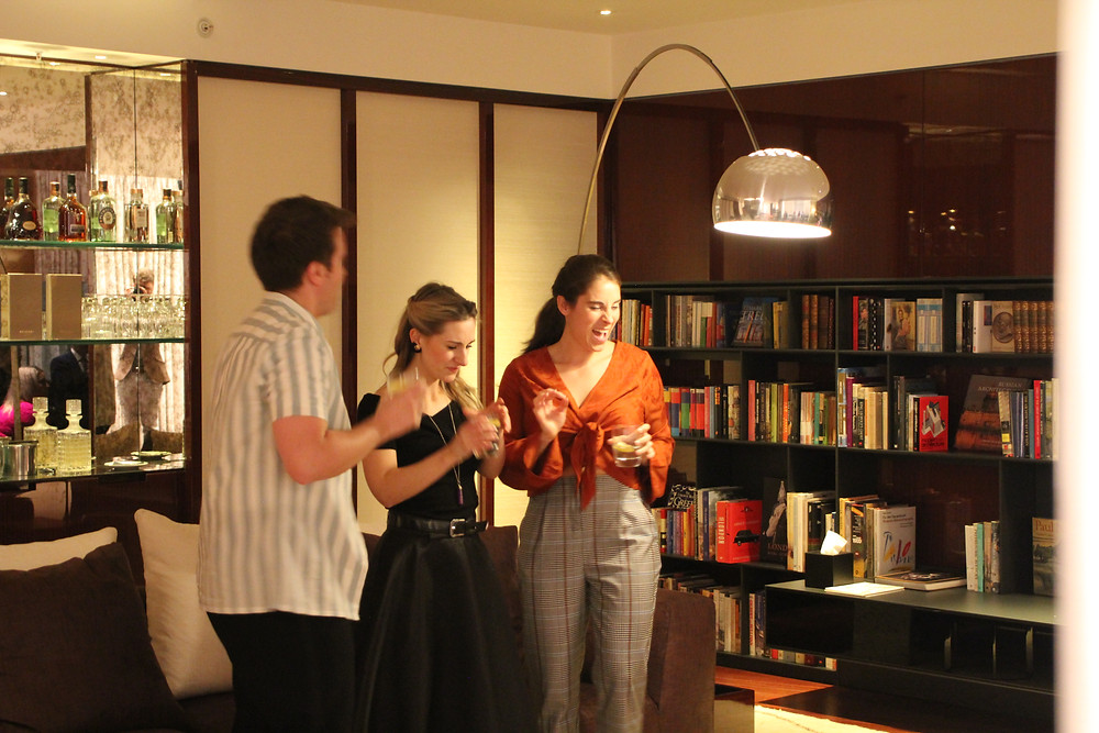 bell book and candle performance by john van druten in bulgari hotel knightsbridge