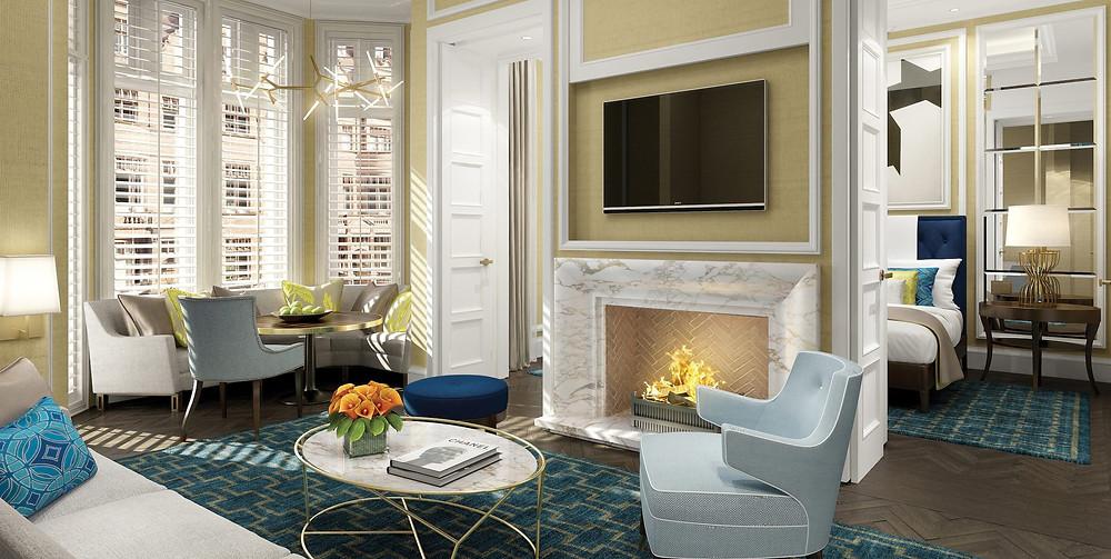 royal suite belmond cadogan living room oscar wilde