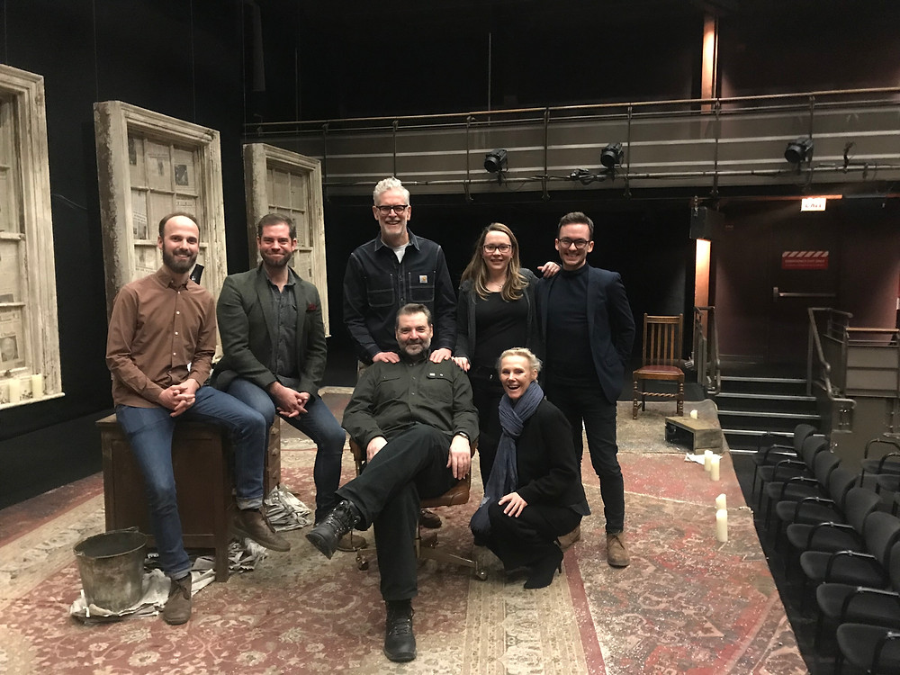 cast and crew of donmar warehouse st nicholas in chicago goodman theatre