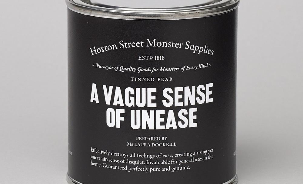 A tin containing monster supplies adult halloween joke