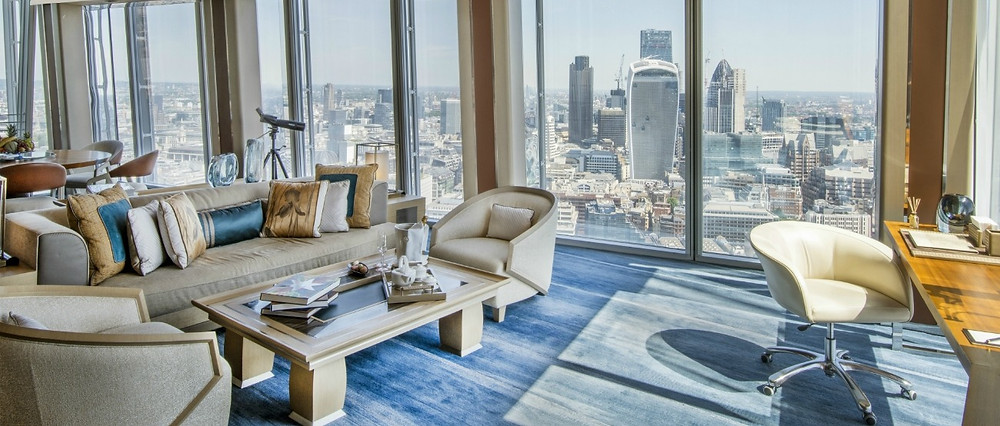 shangri-la hotel westminster suite living room