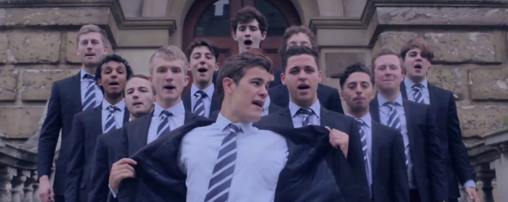 out of the blue singers in oxford university choir
