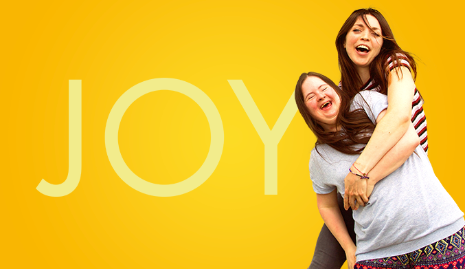 poster for joy a play about Downes Syndrome and autism