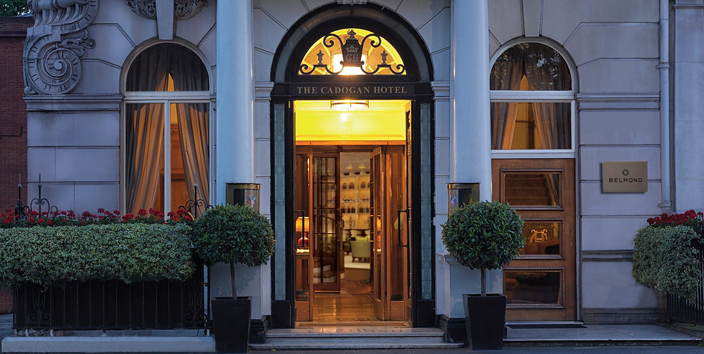 belmond cadogan entrance oscar wilde