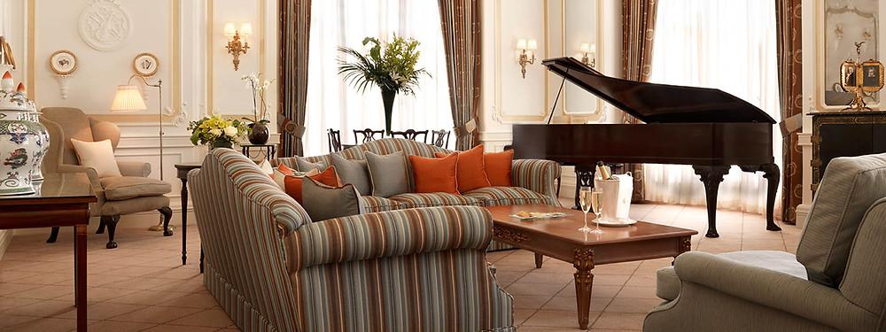 prince alexander suite grand piano claridges