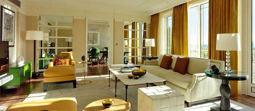 harlequin suite dorchester living room