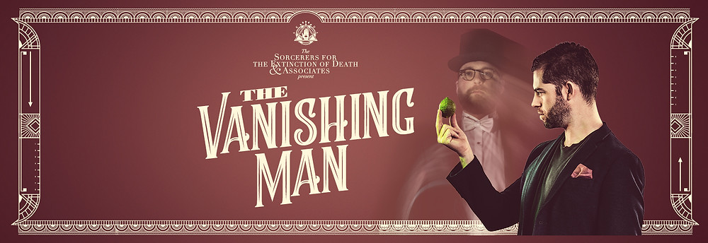 the vanishing man simon evans magician with a lime