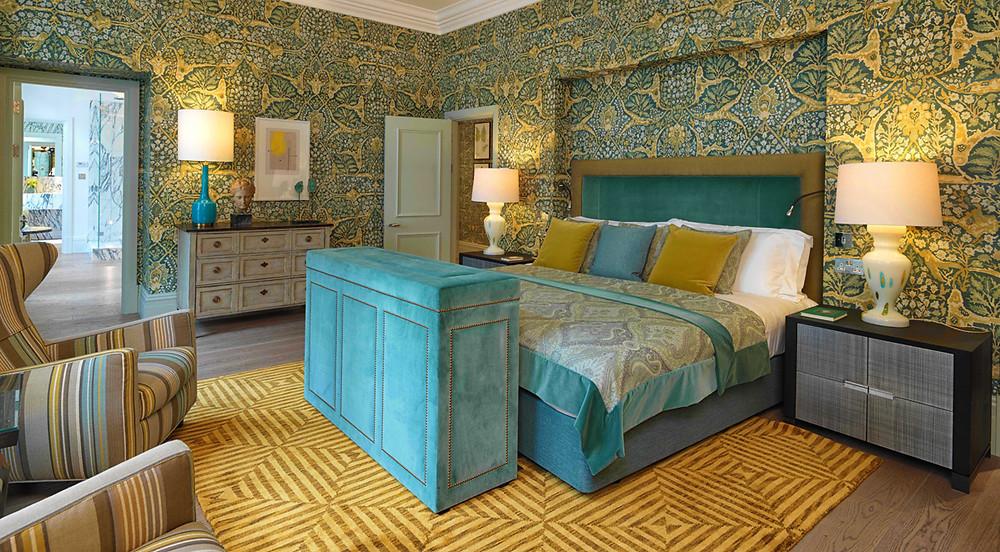 kipling suite browns hotel london bedroom olga polizzi