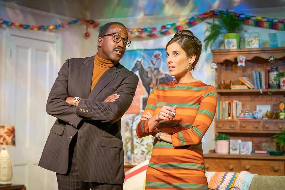 marc brenner lucy eaton and clarence smith in a day in the death of joe egg at trafalgar studios west end 2019