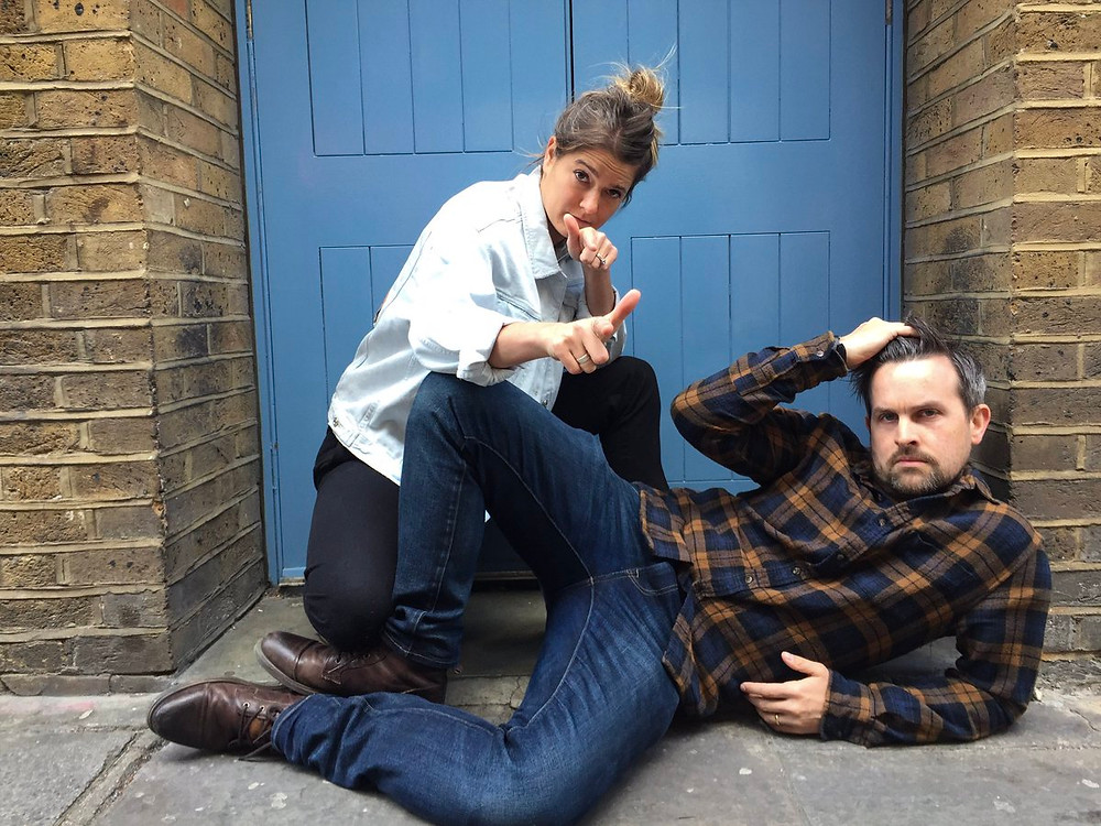 Comedians Bread and Geller sketch off finalists pose in hilarious old-fashioned boy band pose