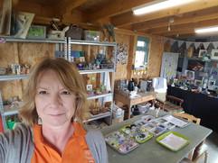 workshop selfie