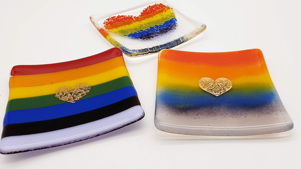 Rainbow Pin Dish