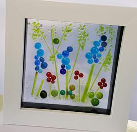 blue framed