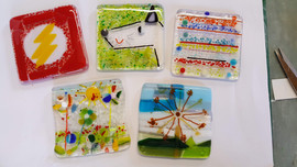made coasters