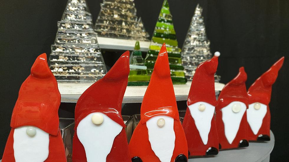 Santa tealight holders