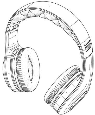 Design patent drawing illustration 11