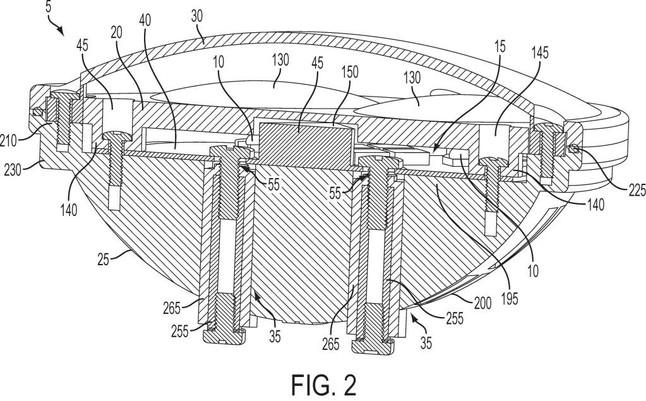 Utility patent drawing illustration 1