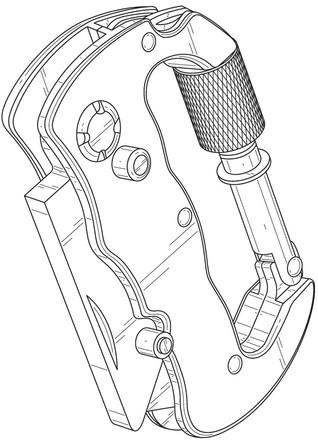 Design patent drawing illustration 13