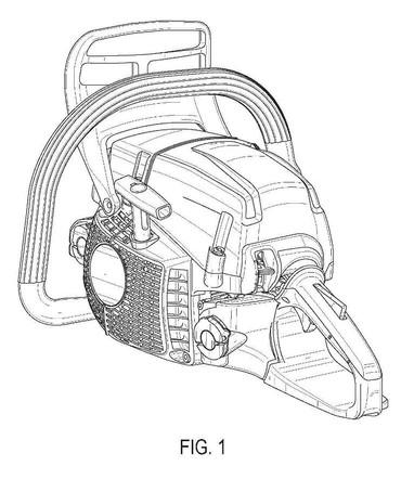 Design patent drawing illustration 3