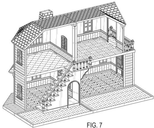 Design patent drawing illustration 10