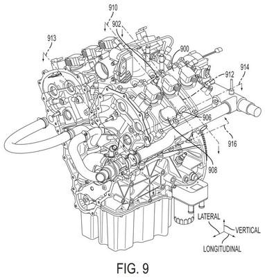 Utility patent drawing illustration 3