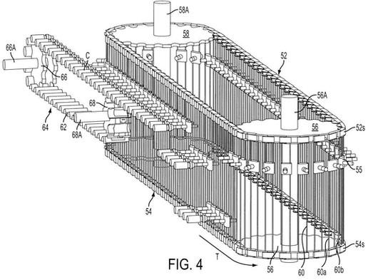 Utility patent drawing illustration 2