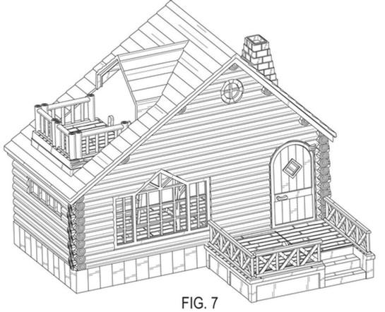 Design patent drawing illustration 9