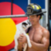 Hot Firefighters & Puppies!