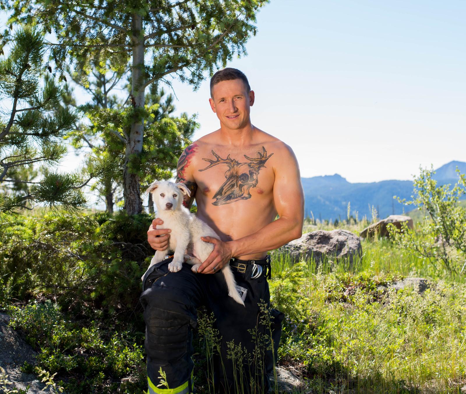 Firefighter Calendar Fire Rescue Dogs Colorado