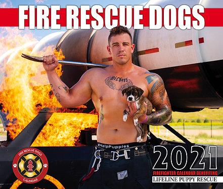 2021 Fire Rescue Dogs Calendar (International Orders)