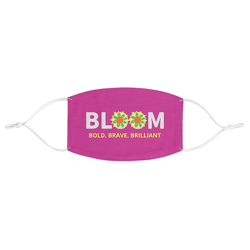 Berry Bloom Fabric Face Mask