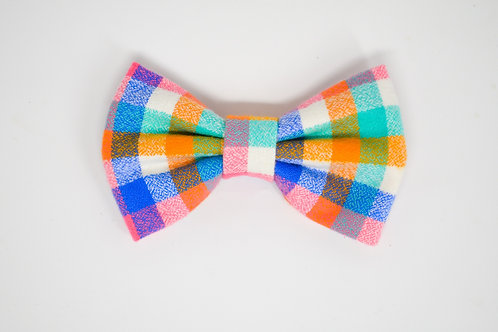 Easter Plaid - Bow