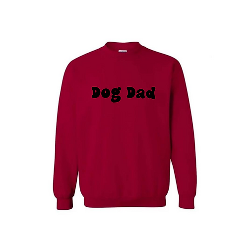 Dog Dad - Crew Neck Sweatshirt