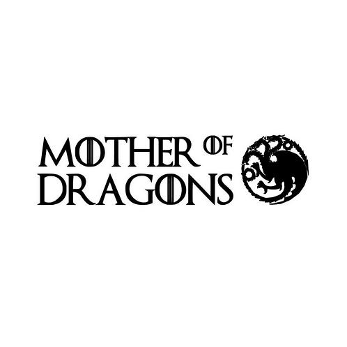 Custom Mother of Dragons - Bandana