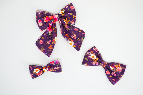 Lavender Bloom - Bow