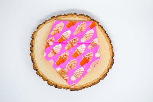 Pink Retro Ice Cream - Bandana